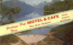 Greetings From Sage Motel & Café