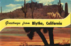 Greetings From Blythe