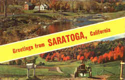 Greetings From Saratoga