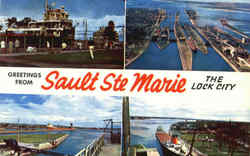 Greetings From Sault Ste Marie, Sault Ste.
