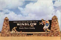 Winslow Snake Dance country Postcard