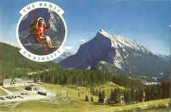 The Banff Chairlift Postcard
