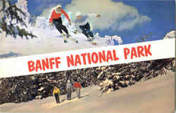 Banff National Park Postcard