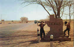 The Texas Welcome Marker