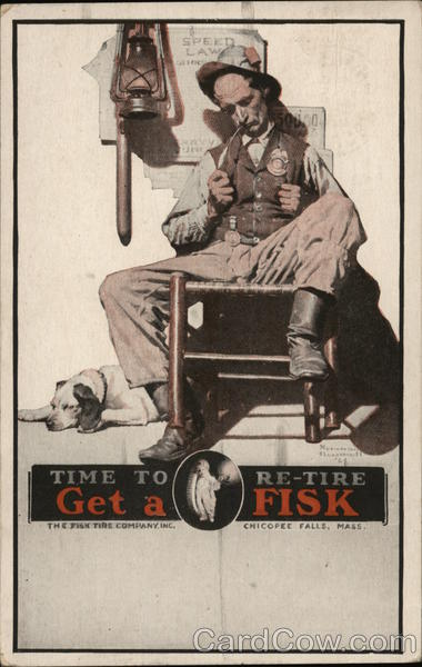 Time to Re-Tire Get a FISK Advertising
