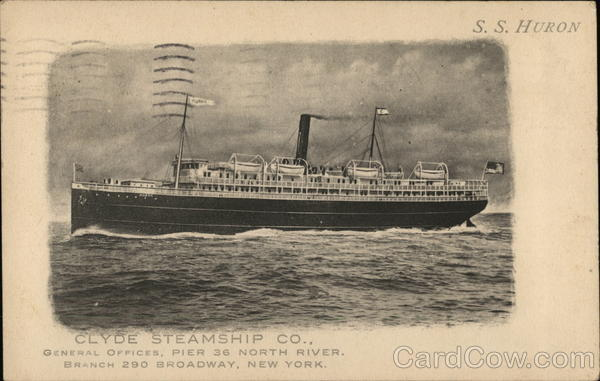 Clyde Steamship Co. Boats, Ships