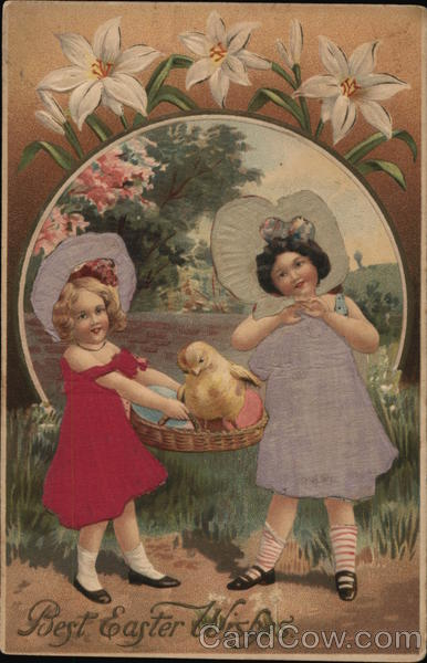Best Easter Wishes With Children