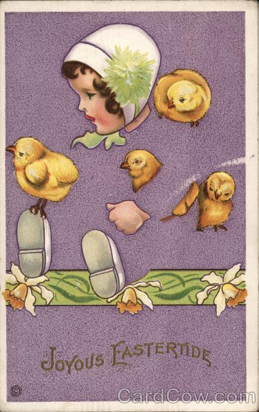 Joyous Eastertide With Chicks