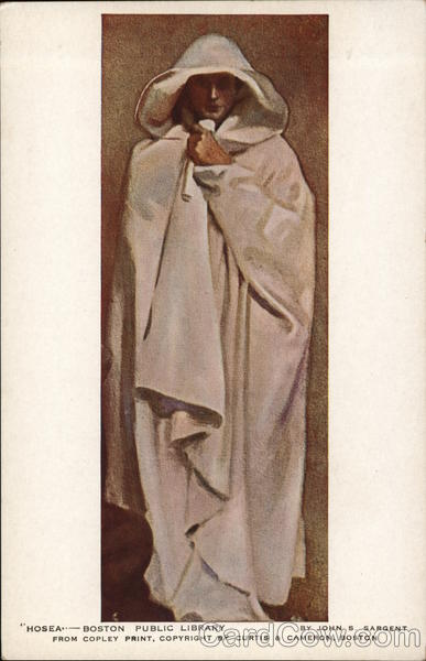 Hosea - Person Draped in Long Flowing Garment with Head Covered