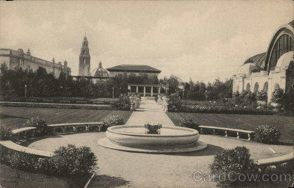 Botanical Gardens 1915 Panama-California Exposition