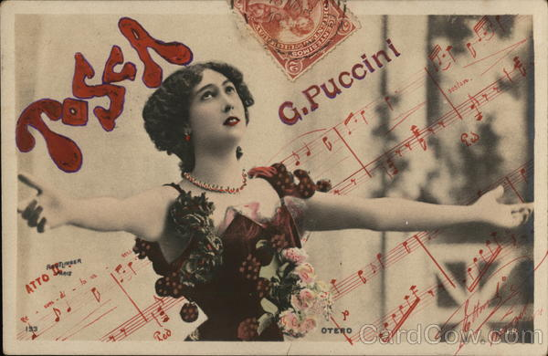 Tosca G. Puccini Music and Literature