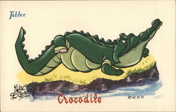 Tobler Chocolates - Crocodile