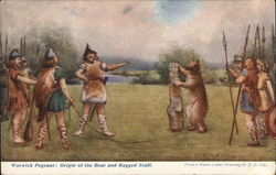 Warwick pageant: Origin of the Bear and Ragged Staff