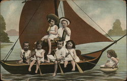Children on Sailboat
