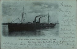 Ship in Water - Great Eastern Royal Mail Steamer, Vienna