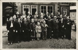Group Shot of Midgets - Exposition Internationale Paris 1937