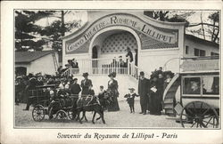 Souvenir du Royanne de Lilliput - Paris