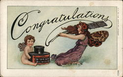 Congratulations - Fairies and Inkwell