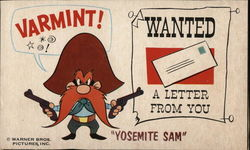 "Yosemite Sam with Two Guns Drawn, ""Varmint!"""