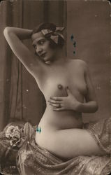 Beautiful Nude Woman Postcard