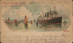 Red Star Line New York-Antwerp