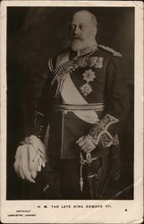 H. M. The Late King Edward VII.
