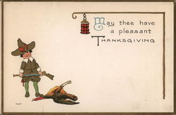May thee have a pleasant Thanksgiving