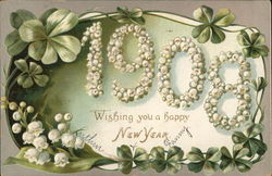 1908 Wishing you a happy New Year