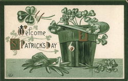 Welcome St. Patrick's Day