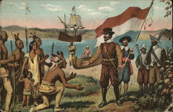 Henry Hudson Taking Possession of Manhattan Island