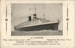 S. S. Shawnee - West Indies Cruise, June 6, 1929