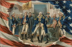 Washington Taking Leave of his Officers