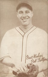 Best Wishes, Bob Feller, Cleveland Indian