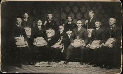 1906 To Master Masons - Group Photo of Men