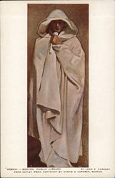"""Hosea"" - Person Draped in Long Flowing Garment with Head Covered"