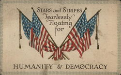 Stars and Stripes Fearlessly Floating for Humanity & Democracy