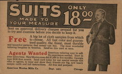 Suits Made To Your Measure