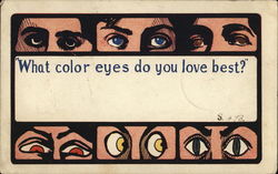 What color eyes do you love best?