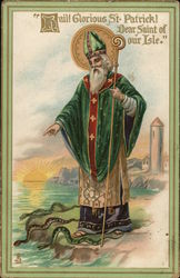 """Hail! Glorious St. Patrick! Dear Saint of our Isle."""