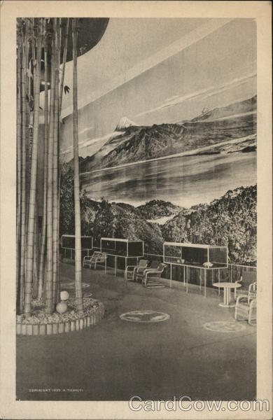 Japan Hall - Hall of Nations 1939 NY World's Fair