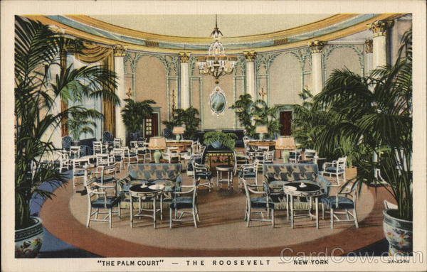 The Palm Court The Roosevelt New York