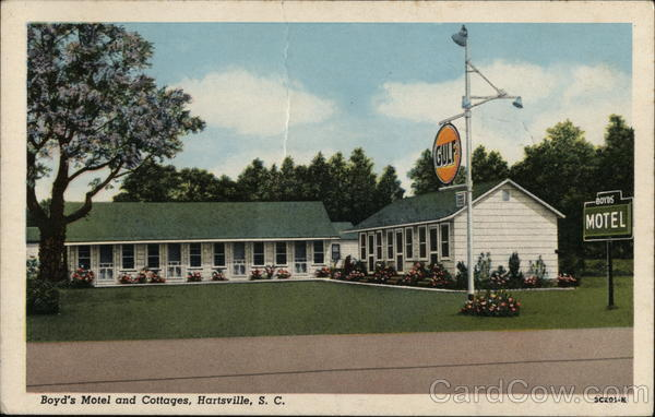 Boyd's Motel and Cottages Hartsville South Carolina
