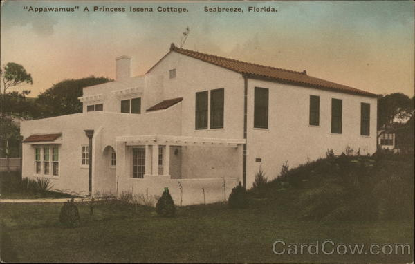 Appawamus A Princess Issena Cottage Seabreeze Florida