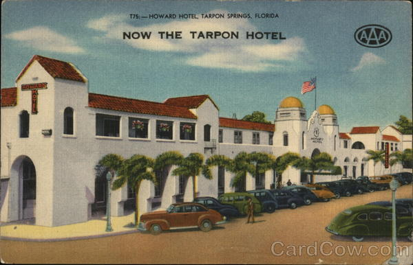 The Tarpon Hotel Tarpon Springs Florida