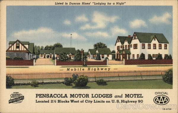 Pensacola Motor Lodges and Motel Florida