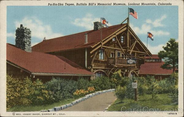 Pa-Ha-Ska Tepee - Buffalo Bill's Memorial Museum, Lookout Mountain Golden Colorado