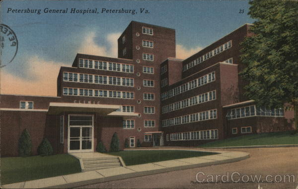 Petersburg General Hospital Virginia