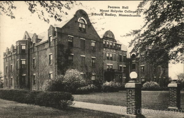 Pearson Hall Mount Holyoke College South Hadley Massachusetts