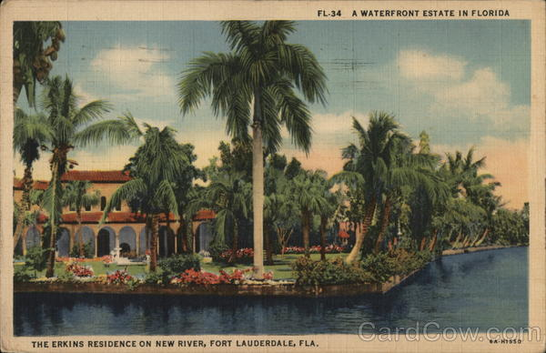 Erkins Residence on New River Fort Lauderdale Florida