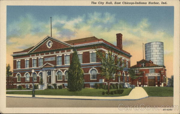 The City Hall, East Chicago-Indiana Harbor